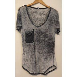 Z supply burnout pocket T-shirt